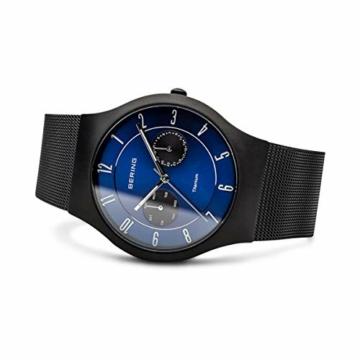 BERING Herren-Armbanduhr Analog Quarz Edelstahl 11939-078 - 4