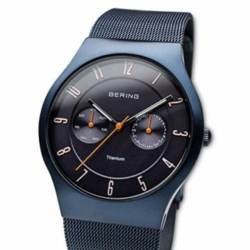 BERING Herren-Armbanduhr Analog Quarz Edelstahl 11939-393 - 2