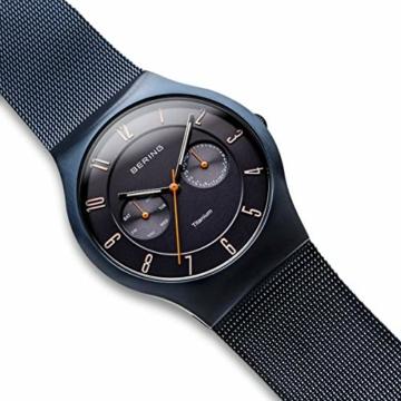 BERING Herren-Armbanduhr Analog Quarz Edelstahl 11939-393 - 3