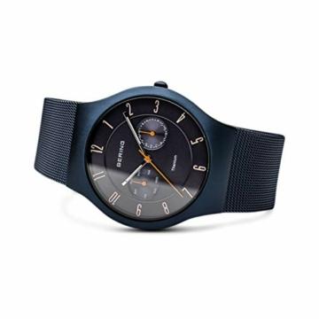 BERING Herren-Armbanduhr Analog Quarz Edelstahl 11939-393 - 4