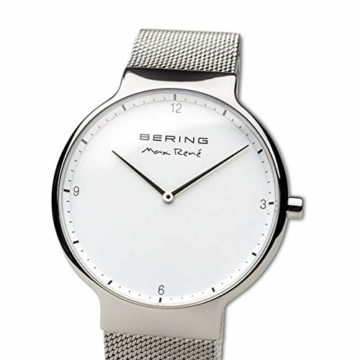 BERING Herren-Armbanduhr Analog Quarz Edelstahl 15540-004 - 2
