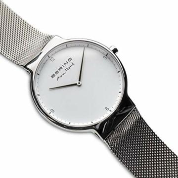 BERING Herren-Armbanduhr Analog Quarz Edelstahl 15540-004 - 3
