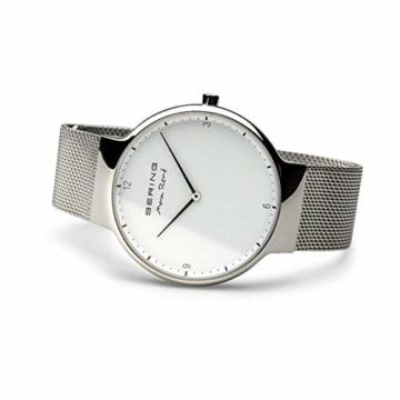 BERING Herren-Armbanduhr Analog Quarz Edelstahl 15540-004 - 4
