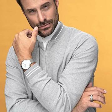 BERING Herren-Armbanduhr Analog Quarz Edelstahl 15540-004 - 5