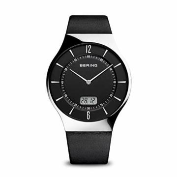 BERING Herren-Armbanduhr Analog Quarz Leder 51640-402 - 1