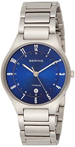 BERING Herren-Armbanduhr Analog Quarz Titan 11739-707 - 1