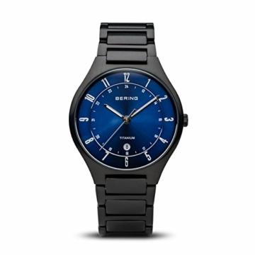 BERING Herren-Armbanduhr Analog Quarz Titan 11739-727 - 1