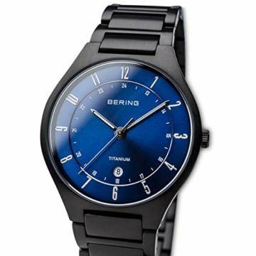 BERING Herren-Armbanduhr Analog Quarz Titan 11739-727 - 2