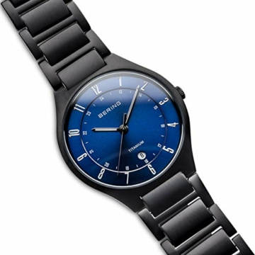 BERING Herren-Armbanduhr Analog Quarz Titan 11739-727 - 3