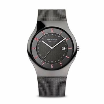 BERING Herren-Armbanduhr Analog Solar Edelstahl 14640-077 - 1