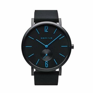 BERING Unisex Analog Quartz Uhr mit Silikon Armband 16940-499 - 1