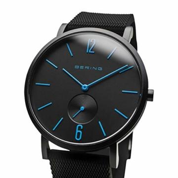 BERING Unisex Analog Quartz Uhr mit Silikon Armband 16940-499 - 2