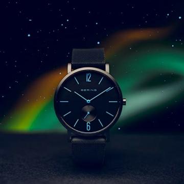 BERING Unisex Analog Quartz Uhr mit Silikon Armband 16940-499 - 4