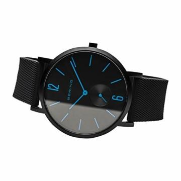 BERING Unisex Analog Quartz Uhr mit Silikon Armband 16940-499 - 5