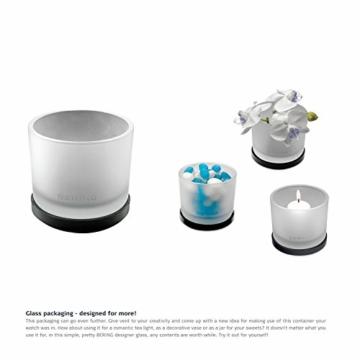BERING Unisex Analog Quartz Uhr mit Silikon Armband 16940-499 - 7