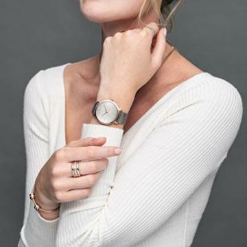 Bering Unisex Analog Quarz Uhr mit Edelstahl Armband 13436-369 - 5