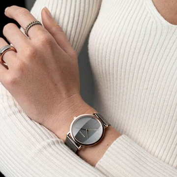 Bering Unisex Analog Quarz Uhr mit Edelstahl Armband 13436-369 - 6