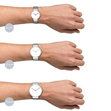 Bering Unisex Analog Quarz Uhr mit Edelstahl Armband 14539-077 - 5