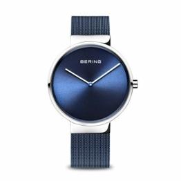 BERING Unisex Analog Quarz Uhr mit Edelstahl Armband 14539-307 - 1