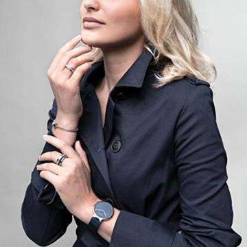 BERING Unisex Analog Quarz Uhr mit Edelstahl Armband 14539-307 - 7