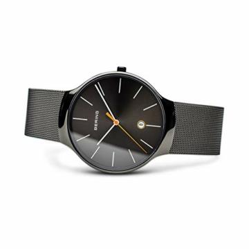 BERING Unisex-Armbanduhr Analog Quarz Edelstahl 13338-077 - 4