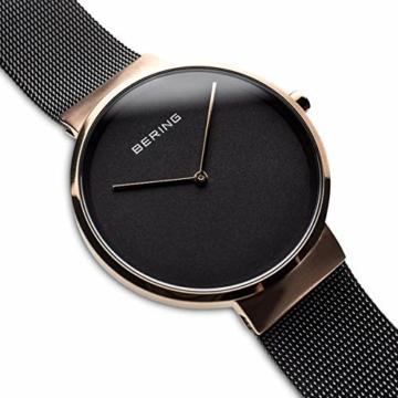 BERING Unisex-Armbanduhr Analog Quarz Edelstahl 14539-166 - 3