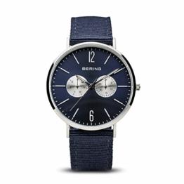 BERING Unisex-Armbanduhr Analog Quarz Nylon 14240-507 - 1