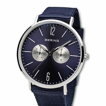 BERING Unisex-Armbanduhr Analog Quarz Nylon 14240-507 - 2