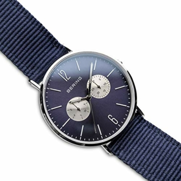 BERING Unisex-Armbanduhr Analog Quarz Nylon 14240-507 - 3