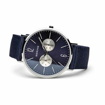 BERING Unisex-Armbanduhr Analog Quarz Nylon 14240-507 - 4