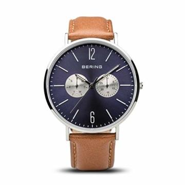 BERING Unisex-Armbanduhr Analog Quarz Nylon 14240-507 - 5