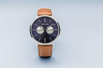BERING Unisex-Armbanduhr Analog Quarz Nylon 14240-507 - 8
