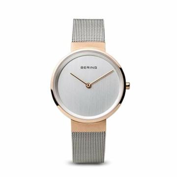 BERING Unisex-Armbanduhr Analog Quarz Uhr mit Edelstahl Armband 14531-060 - 1