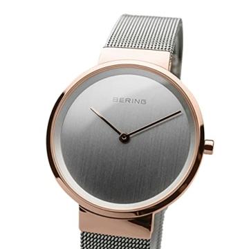 BERING Unisex-Armbanduhr Analog Quarz Uhr mit Edelstahl Armband 14531-060 - 2