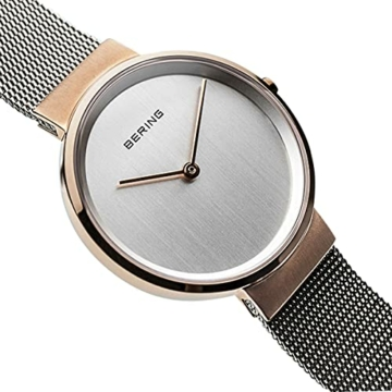 BERING Unisex-Armbanduhr Analog Quarz Uhr mit Edelstahl Armband 14531-060 - 3