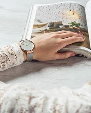 BERING Unisex-Armbanduhr Analog Quarz Uhr mit Edelstahl Armband 14531-060 - 5