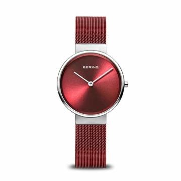BERING Unisex-Armbanduhr Analog Quarz Uhr mit Edelstahl Armband 14531-303 - 1
