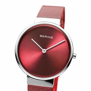 BERING Unisex-Armbanduhr Analog Quarz Uhr mit Edelstahl Armband 14531-303 - 2