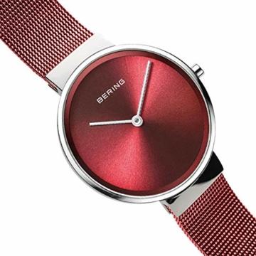 BERING Unisex-Armbanduhr Analog Quarz Uhr mit Edelstahl Armband 14531-303 - 3