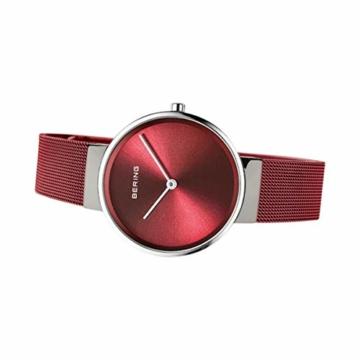 BERING Unisex-Armbanduhr Analog Quarz Uhr mit Edelstahl Armband 14531-303 - 4