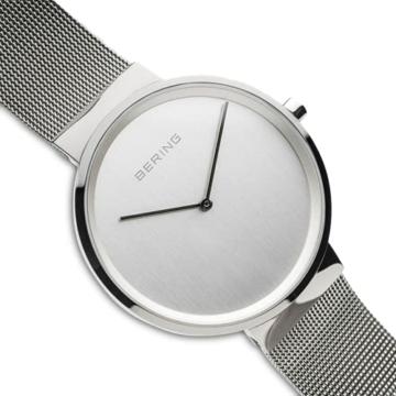 BERING Unisex-Armbanduhr Analog Quarz Uhr mit Edelstahl Armband 14539-000 - 3