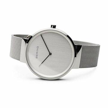 BERING Unisex-Armbanduhr Analog Quarz Uhr mit Edelstahl Armband 14539-000 - 4