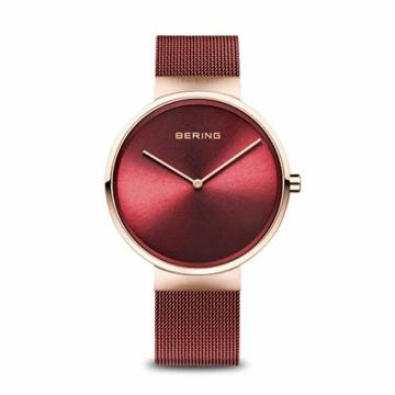 BERING Unisex-Armbanduhr Analog Quarz Uhr mit Edelstahl Armband 14539-363 - 1