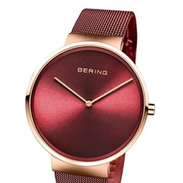 BERING Unisex-Armbanduhr Analog Quarz Uhr mit Edelstahl Armband 14539-363 - 2