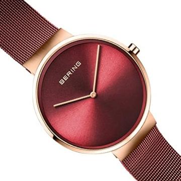BERING Unisex-Armbanduhr Analog Quarz Uhr mit Edelstahl Armband 14539-363 - 3