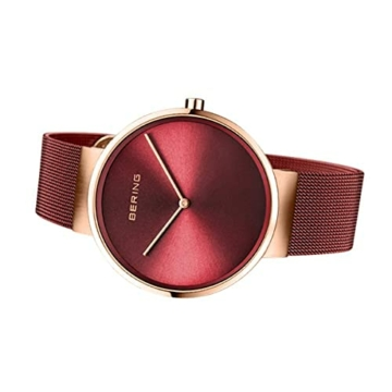BERING Unisex-Armbanduhr Analog Quarz Uhr mit Edelstahl Armband 14539-363 - 4