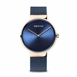 BERING Unisex-Armbanduhr Analog Quarz Uhr mit Edelstahl Armband 14539-367 - 1
