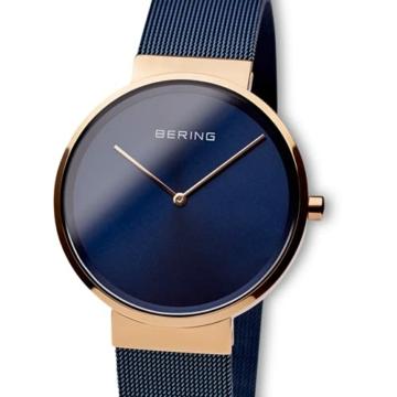 BERING Unisex-Armbanduhr Analog Quarz Uhr mit Edelstahl Armband 14539-367 - 2