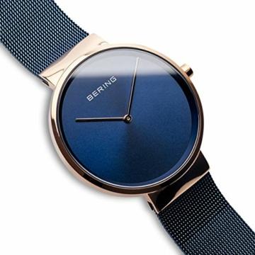 BERING Unisex-Armbanduhr Analog Quarz Uhr mit Edelstahl Armband 14539-367 - 3