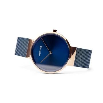 BERING Unisex-Armbanduhr Analog Quarz Uhr mit Edelstahl Armband 14539-367 - 4
